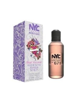 NYC NYC East Village Rock & Tattoo Edition No:671 For Her EDT 100 ml