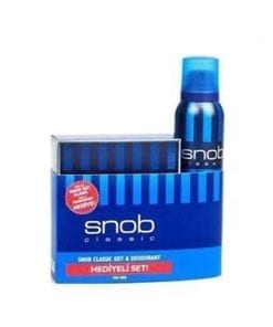 Snob Classic For Men EDT 100 ml & 150 ml Deodorant