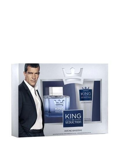 Antonio Banderas King Of Seduction For Men EDT 100 ml & Tu0131rau015f Sonrasu0131 Balsam 100 ml