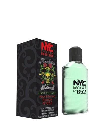 NYC NYC East Village Rock & Tattoo Edition No:652 For Him EDT 100 ml