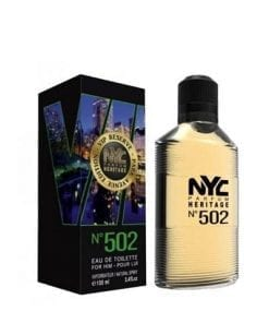 NYC NYC Park Avenue Vip Reserve No:502 For Him EDT 100 ml