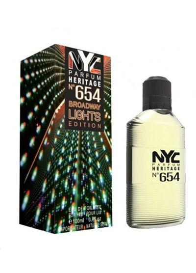 NYC NYC Broadway Lights Edition No:654 For Him EDT 100 ml