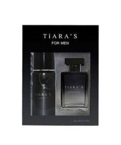 Tiara's Quantum For Men EDT 100 ml & 150 ml Deodorant