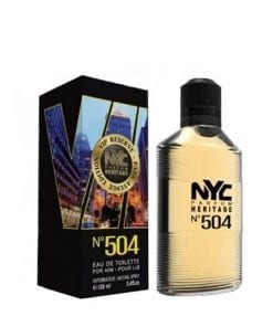 NYC NYC Park Avenue Vip Reserve No:504 For Him EDT 100 ml
