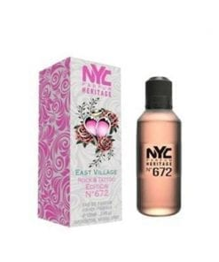 NYC NYC East Village Rock & Tattoo Edition No:672 For Her EDT 100 ml